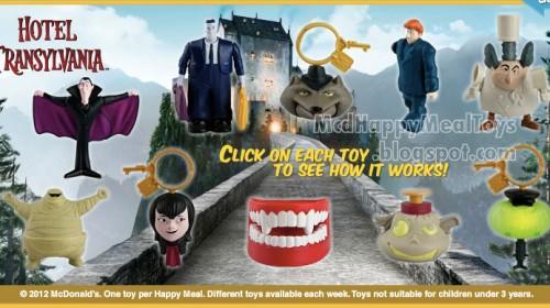 Hotel Transylvania Toys