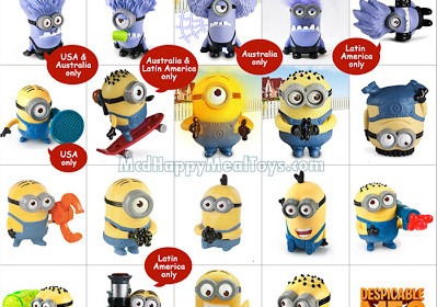 Despicable Me 2: Animated Minion Toys Photo