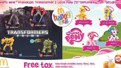 Transformers Prime & My Little Pony
