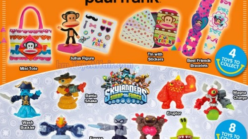 paul frank & Skylanders Swap Force