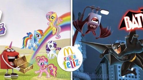 My Little Pony Rainbow Power & Beware the Batman