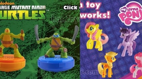 My Little Pony & Teenage Mutant Ninja Turtles