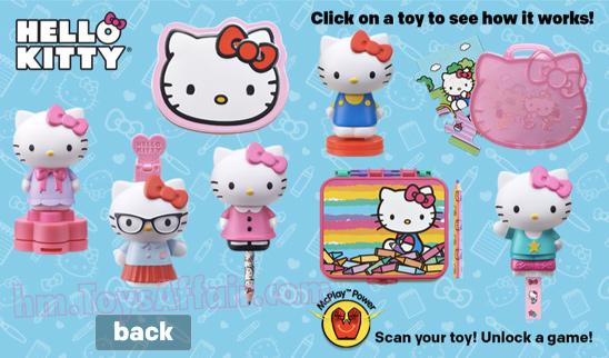 Hello Kitty Happy Meal Toys : Monster jam hello kitty happy meal toys