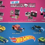 Monster High & Hot Wheels