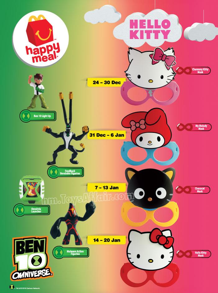 Hello Kitty Happy Meal Toys : Ben hello kitty happy meal toys