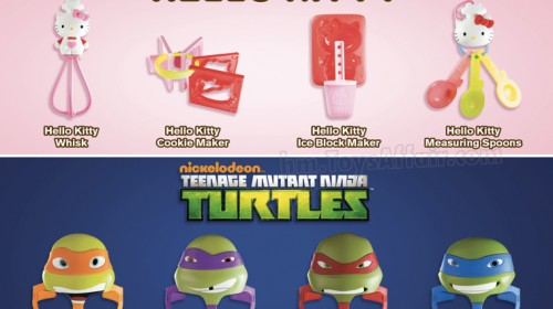 Hello Kitty & Ninja Turtle