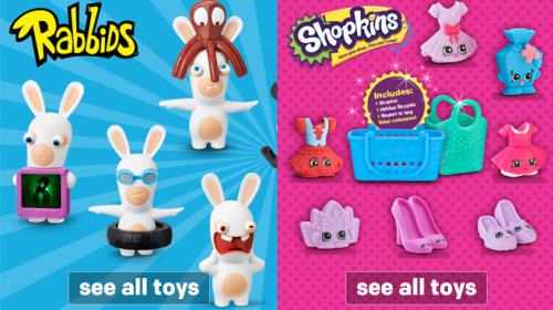 Rabbids & Shopkins
