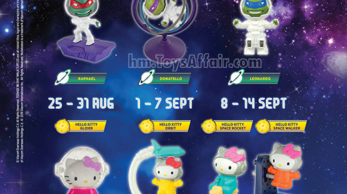Teenage Mutant Ninja Turtles & Hello Kitty Space Series