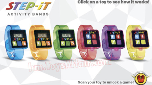 STEP-iT Activity Bands
