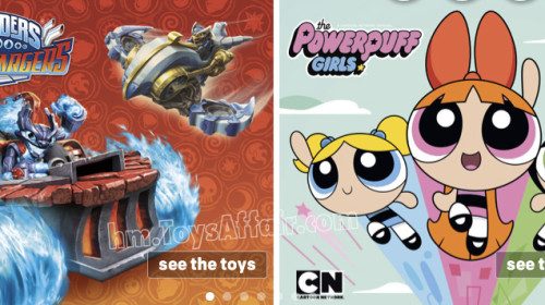 Skylanders Superchargers & The Powerpuff Girls