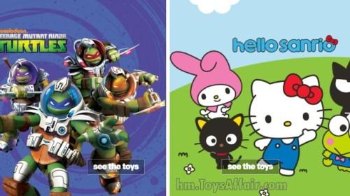 Ninja Turtle & Hello Sanrio