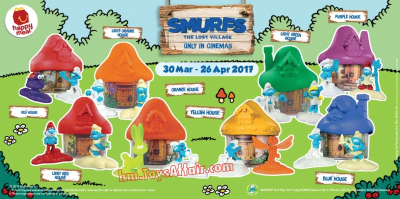 happy-meal-toys malaysia-smurfs-2017
