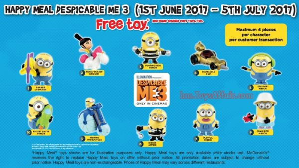 happy-meal-toys-singapore-despicable-me-3