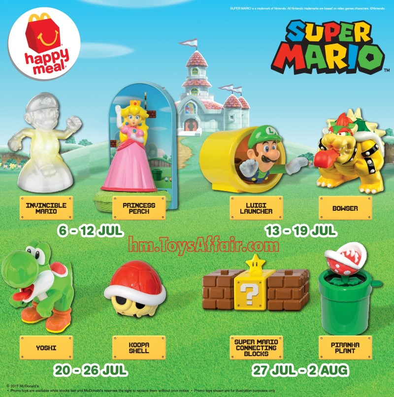 showing 1st image of 2018 Happy Meal Toy Schedule Super Mario – Happy Meal Toys