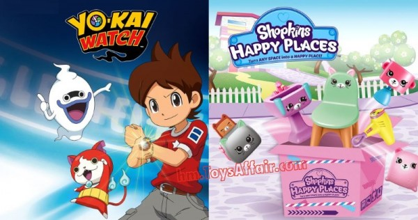 Yo-Kai Watch & Shopkins Happy Places