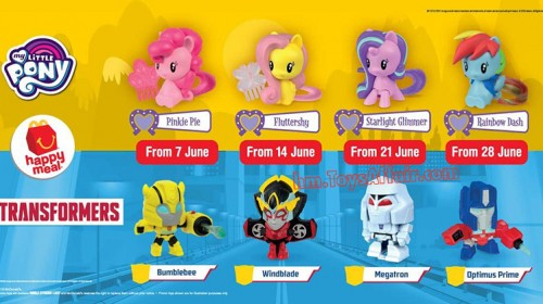 My Little Pony and Transformers